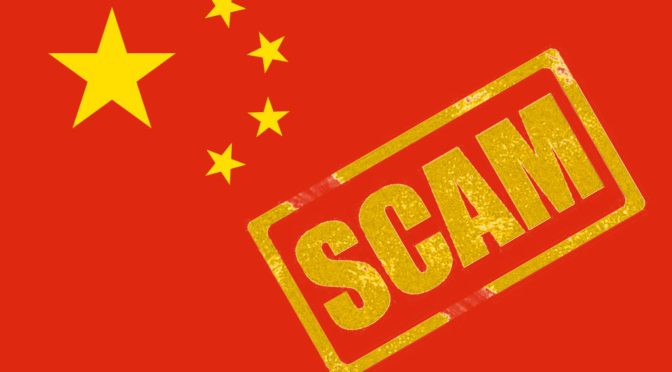 Scams in China