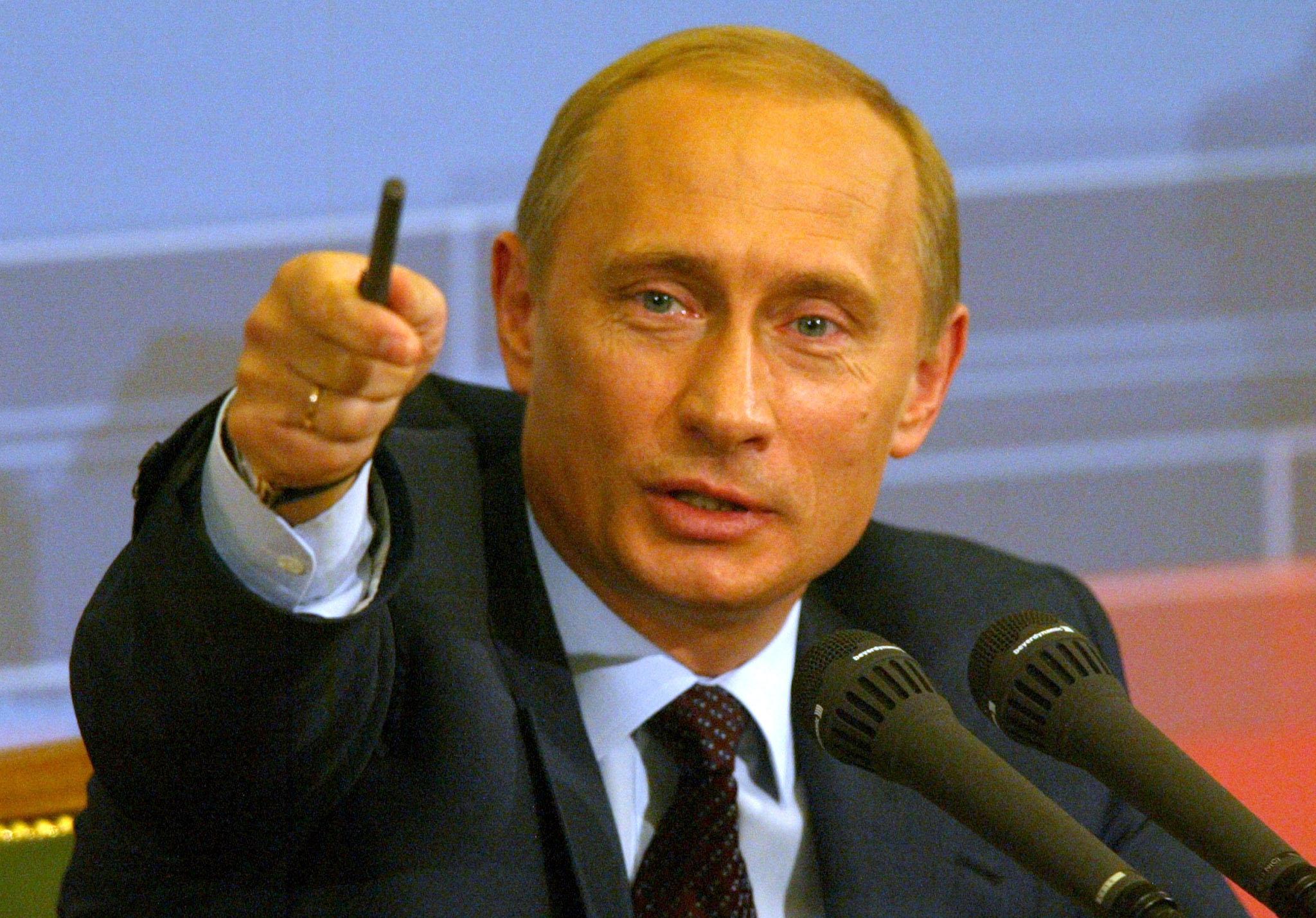 Putin's Cultural Faux Pas