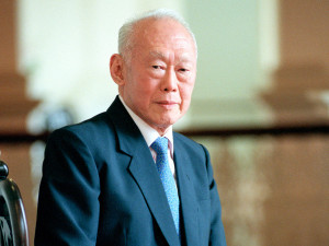 front view photo of lee kuan yew