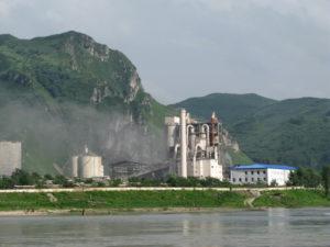 cement factory near manpo china