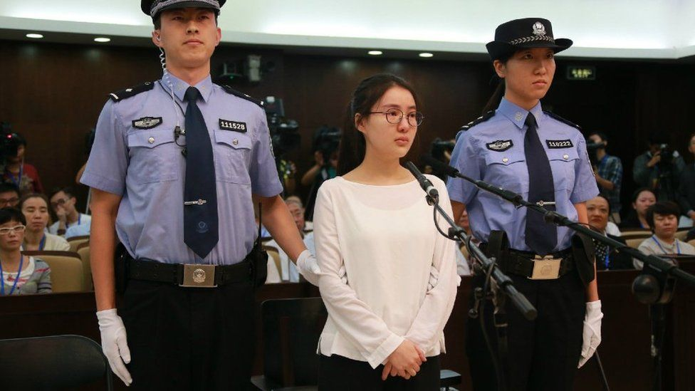 guo meimei in court to hear her verdict