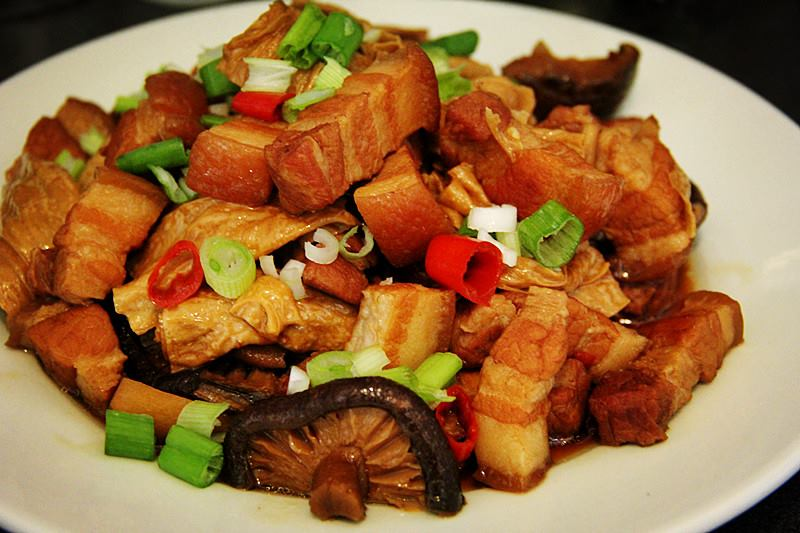 Simple Chinese Food: Braised Pork With Dry Bean Curd | The ...