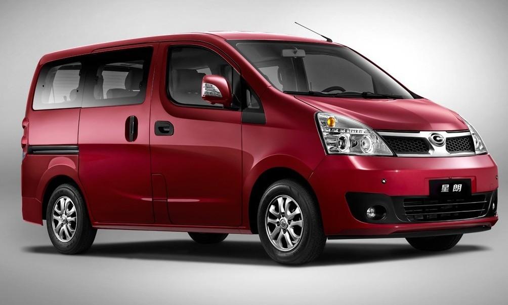photo of a GAC Motor minivan