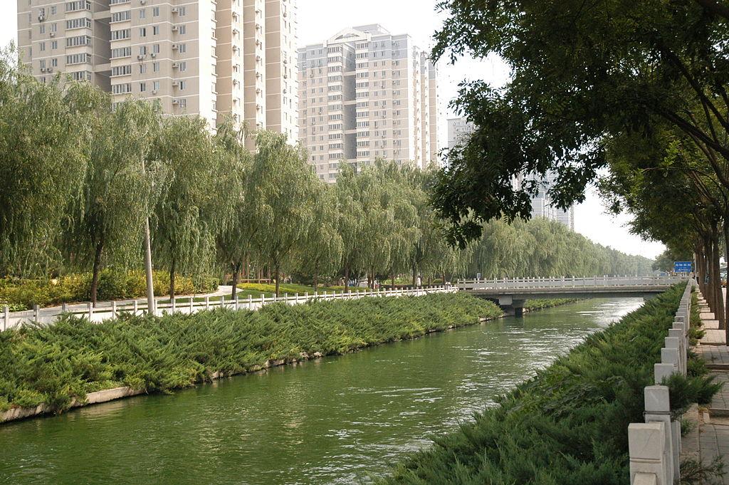 river running through beijing