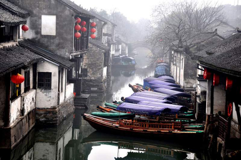 River Town Close to Suzhou