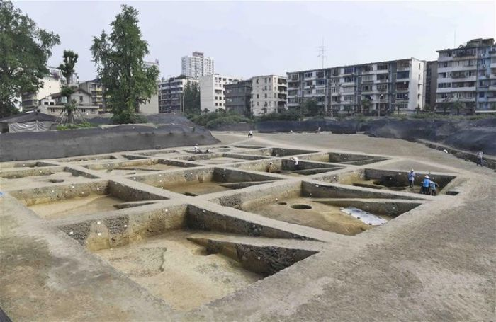 archaeological site in chengdu