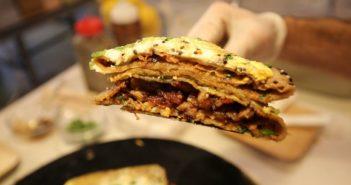 Jianbing - the tastiest breakfast in China!