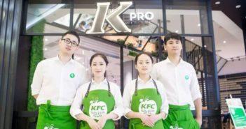 staff at kpro restaurant in hangzhou