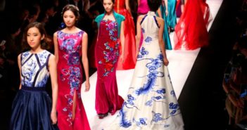 Shanghai Fashion Week Catwalk Runway