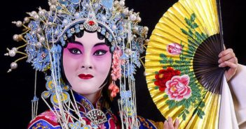 performer from traditional chinese opera