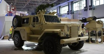 chinese made mine protection vehicle