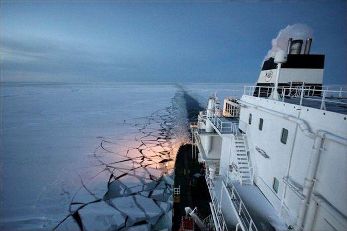 中国开辟北极新航道促进与欧洲的贸易