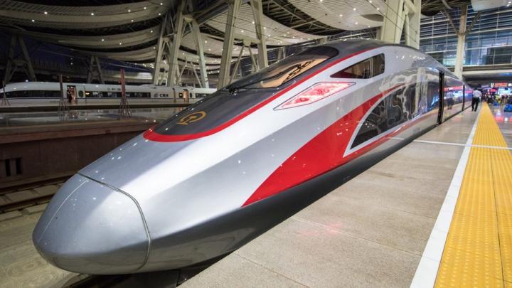 """中国""""复兴号""""动车组提速  运行速度全球最快"""