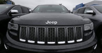 front view of a jeep car
