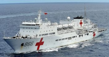 china's medical naval ship peace ark