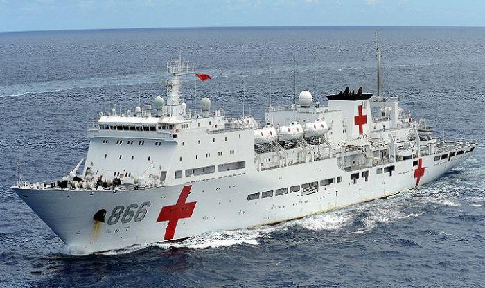 中国海军医院在吉布提提供免费医疗服务