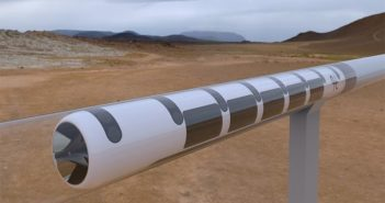 depiction of hyperloop