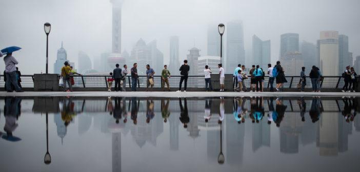 shanghai waterfront