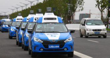 baidu driverless technology on cars