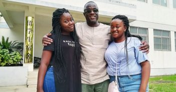 father with two daughters in south africa