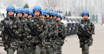 chinese un peacekeeping troops