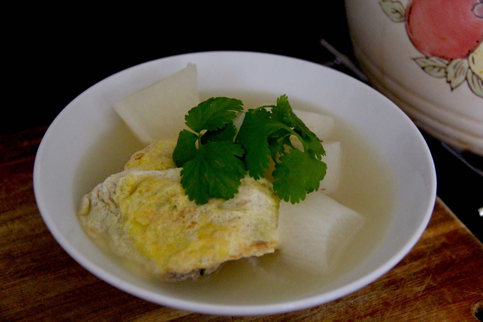 Winter Warmer: How to Make Egg Dumpling Mooli Soup