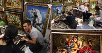 iranian carpet shop in china