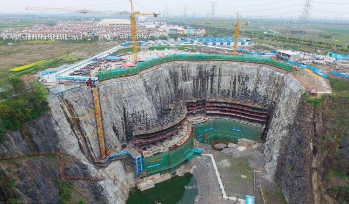 上海废弃采石场建豪华酒店