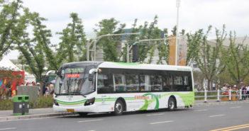 bus in shanghai