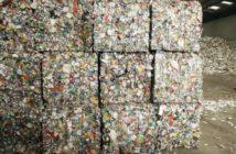 scrap cubes piled up