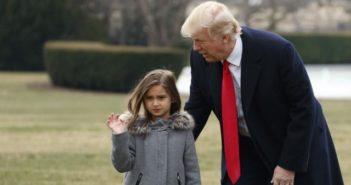 donald trump and arabella trump