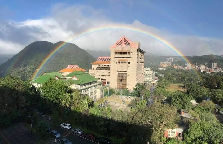 台湾最美彩虹破记录