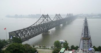 bridge between china and north korea