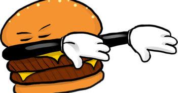 the development of loanwords in Chinese - dabbing hamburger