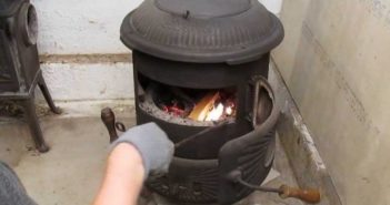 coal stove heater