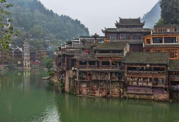 中国过多游客威胁到传统村落的保护