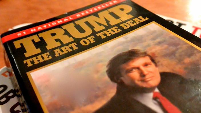 donald trump autobiography