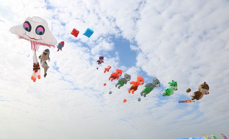 kite flying competition in china
