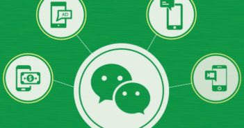 wechat logo with functions