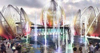 lotus design of culture centre to open in hanoi