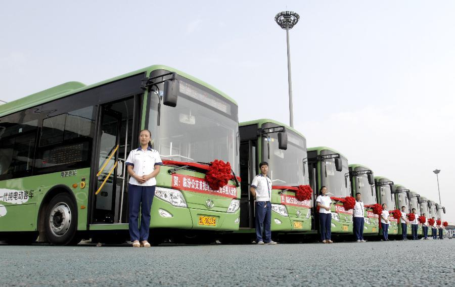 electric busses in china