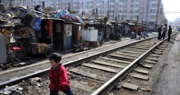 shantytown in china