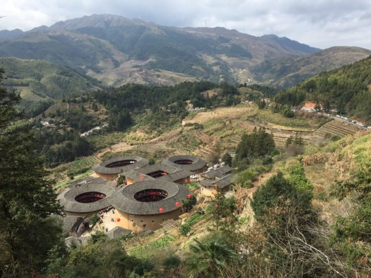 Earthen Houses in Fujian - Beautiful Scenery