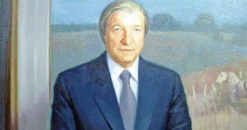 portrait of former irish prime minister