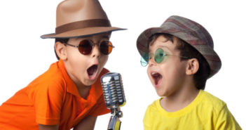 Two Kids Sing Karaoke