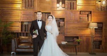 wedding photo for chinese couple