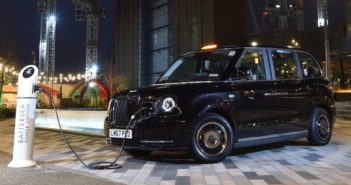 electric taxi in london