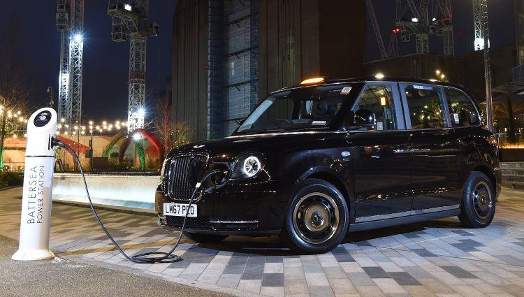 伦敦环保出租车可获税收补贴