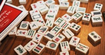 Mahjong tiles - one of the many Chinese words in English