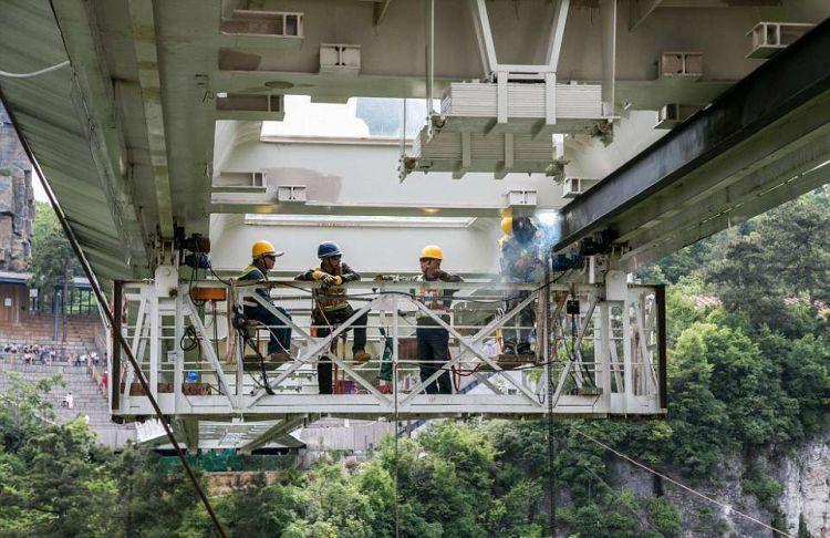 中国正在建世界最高的蹦极台